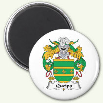 Queipo Family Crest Magnet