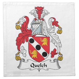 Quelch Family Crest Cloth Napkins
