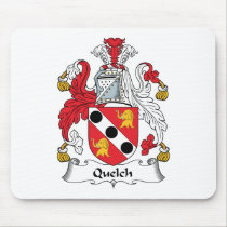Quelch Family Crest Mousepad