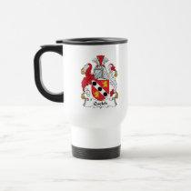 Quelch Family Crest Mug