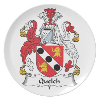 Quelch Family Crest Plate