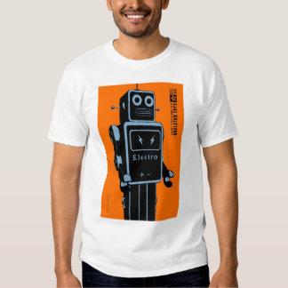Quelstar Toys ElectroMan Tin Toy Robot Tshirt