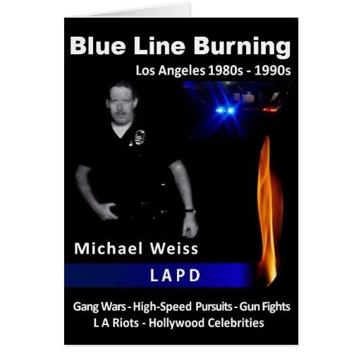 Quema de Blue Line Tarjetas