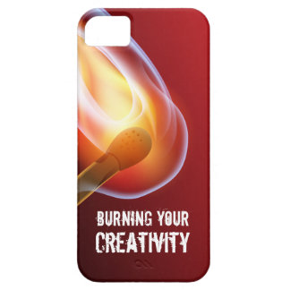 Quema de su creatividad por los partidos iPhone 5 carcasas