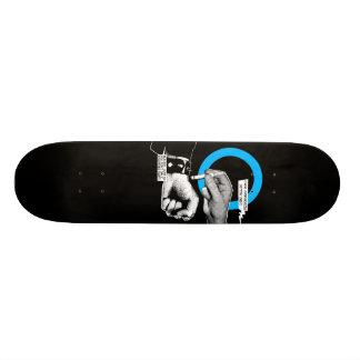 Quemadura de los gérmenes skate board