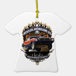 Quemadura del camino del Barracuda Ornaments Para Arbol De Navidad