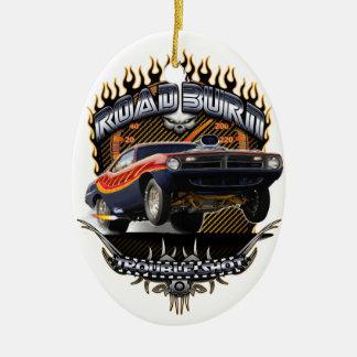 Quemadura del camino del Barracuda Adorno De Reyes