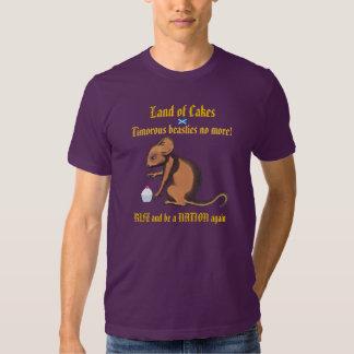 Quemaduras Beastie timorato no más de camiseta de Playera