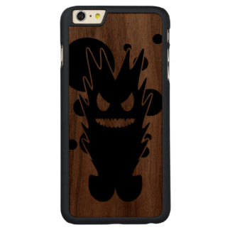 Quemaduras Funda De Nogal Carved® Para iPhone 6 Plus Slim