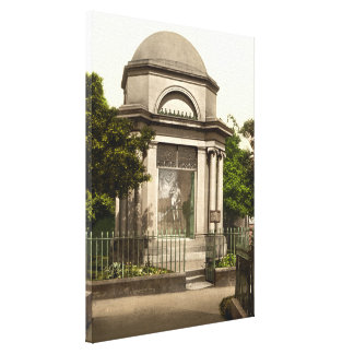 Quemaduras mausoleo Dumfries Escocia Impresiones En Lona