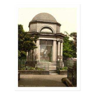 Quemaduras mausoleo, Dumfries, Escocia Tarjetas Postales