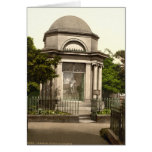 Quemaduras mausoleo, Dumfries, Escocia Tarjetón