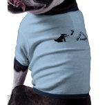 """""""Quemando una pila de S---¡! """" Camiseta De Mascota"""