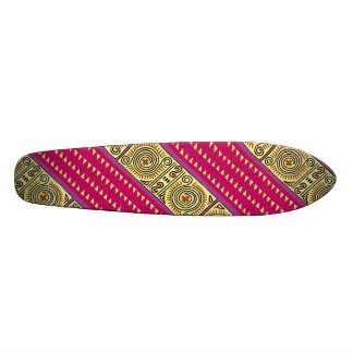 Quenacho Crimson Tribal Designed Skateboard Deck