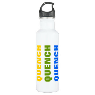 Quench - rainbow stainless steel water bottle