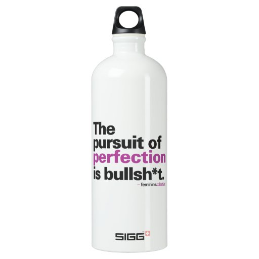 Quench your thirst for perfection aluminum water bottle ...