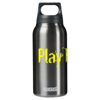 Quench Your Voice(tm) Spill-Proof Insulated Water Bottle