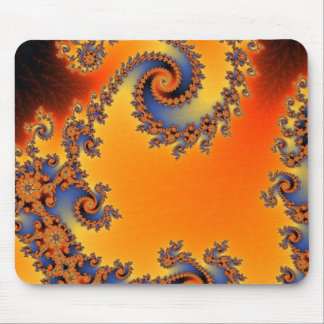 Quenched Double Spiral Mousepad