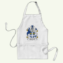 Quennell Family Crest Apron