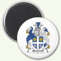Quennell Family Crest Magnet