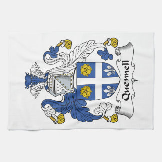 Quennell Family Crest Kitchen Towel