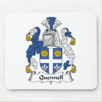 Quennell Family Crest Mousepad
