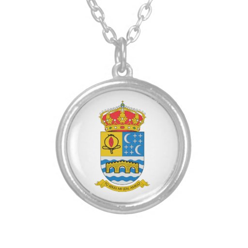Quentar (Spain) Coat of Arms Necklaces