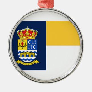 Quéntar (Spain) Flag Metal Ornament