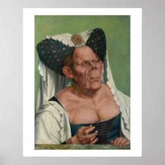 Quentin Massys, la duquesa fea, Ca 1525 Póster