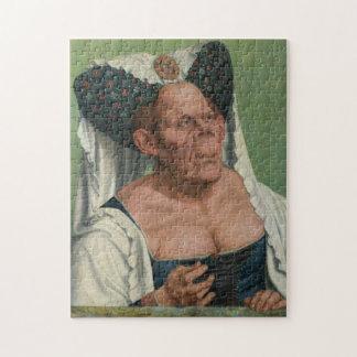 Quentin Massys, la duquesa fea, Ca 1525 Puzzle
