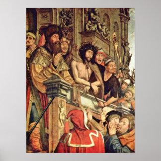 Quentin Matsys - Pilate muestra a Cristo a la gent Impresiones