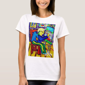 Quentin Painting by Piliero T-Shirt