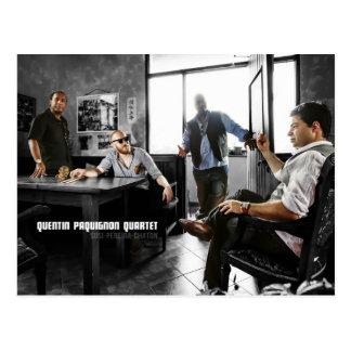 Quentin Paquignon Quartet Postcard