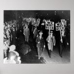 ¡Queremos la cerveza! Prohibición Protest, 1931 Posters