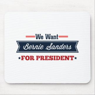 Queremos las chorreadoras de Bernie para el Mousepads