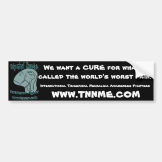 Queremos una etiqueta engomada de parachoques de l etiqueta de parachoque