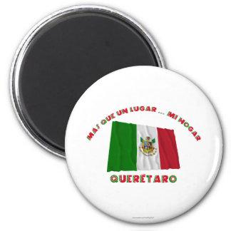Querétaro - Más Que un Lugar Mi Hogar Refrigerator Magnet
