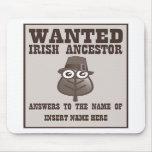 Querido - antepasado irlandés tapete de ratón