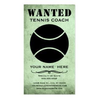 querido: coche de tenis tarjetas de visita