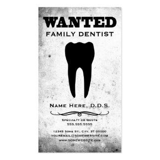 querido: dentista de la familia tarjetas de visita