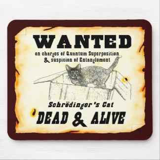 """""""QUERIDO: El gato"""" Mousepad de Schrodinger"""