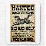 Querido: Mún lobo grande Tapetes De Ratones