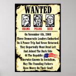 Querido: Obama, Pelosi, Reid Poster
