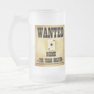 Querido para la taza de Tejas Holdem