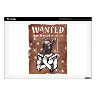 Querido por el perro loco animal del FBI Portátil 43,2cm Skin