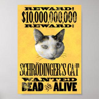 QUERIDO Poster del CAT de SCHRODINGER