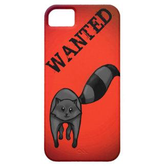 Querido: Racoon lindo (proyector rojo) iPhone 5 Protectores