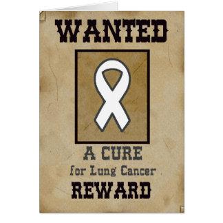 Querido: Una curación para el cáncer de pulmón Tarjetas