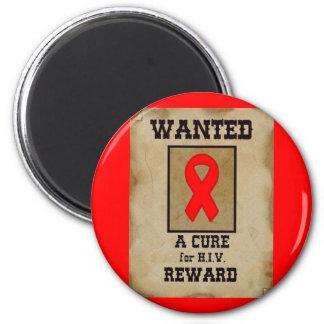 Querido: Una curación para el VIH Imán Redondo 5 Cm