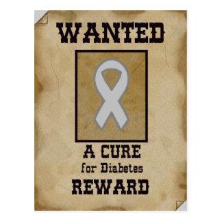 Querido: Una curación para la diabetes Postales